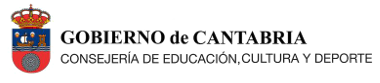 Gobierno de Cantabria - Consejería de Educación